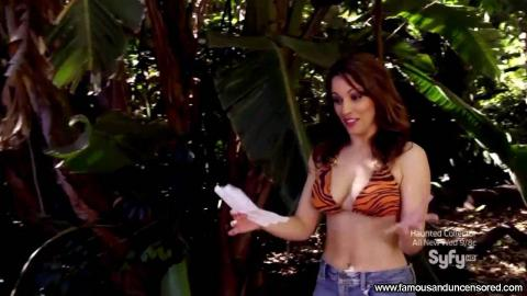 Christina Derosa Nude Sexy Scene Piranhaconda Iranian Orange