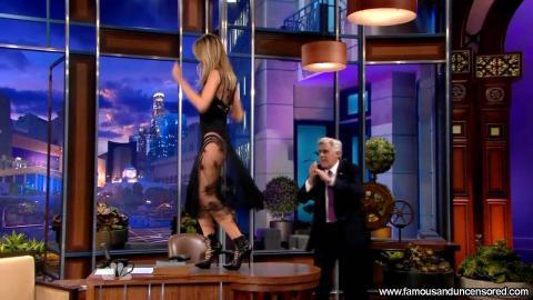 Heidi Klum Nude Sexy Scene The Tonight Show With Jay Leno Hd