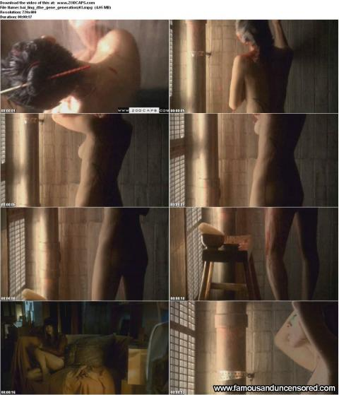 Bai Ling Shower Nice Posing Hot Famous Female Doll Gorgeous