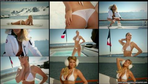 Kate Upton Nude Sexy Scene Close Up Boat Wet Pool Bikini Hd