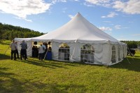40x40 Pole Tent  Events
