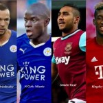 Leicester Form Earns Top Stars National Call-up; Hammers' Payet, Bayern's Coman Too