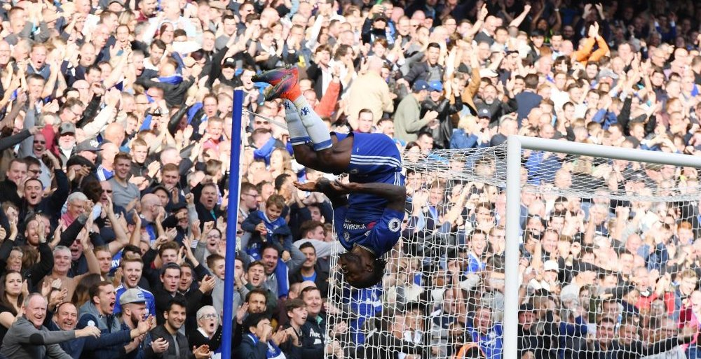 Moses Shines In Chelsea Demolition Of Leicester