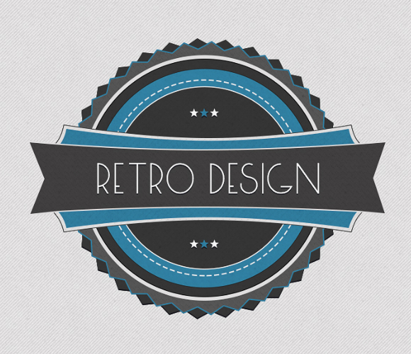 Creating a Retro Badge in Photoshop - Complete SEO