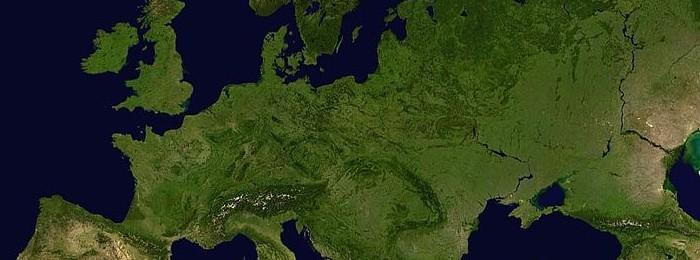 Europa dal satellite