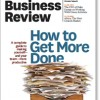 Harvard Business Review may 2011 issue-cover