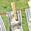 laundering dollar bills money