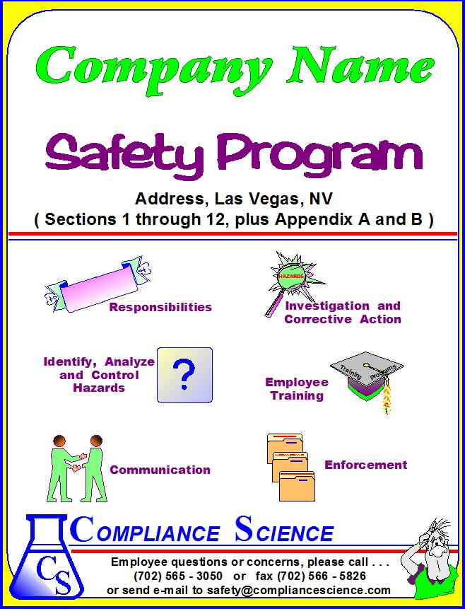 Written Workplace Safety Programs