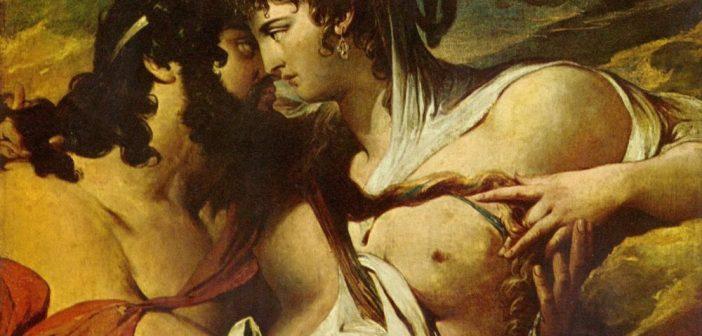 Hera - Jupiter e Juno - James Barry (detalhe)