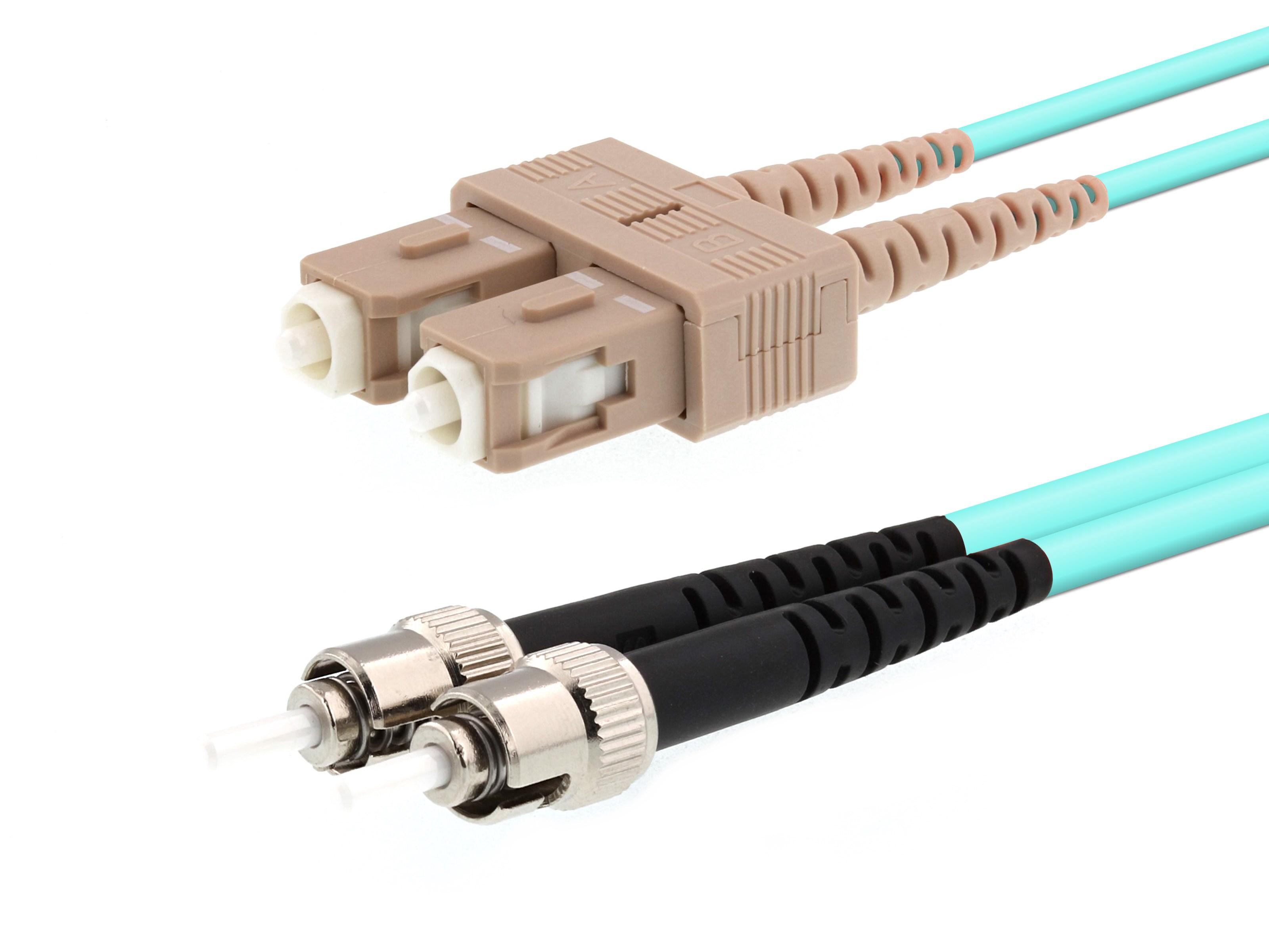 om3 7m duplex multimode fiber optic cable