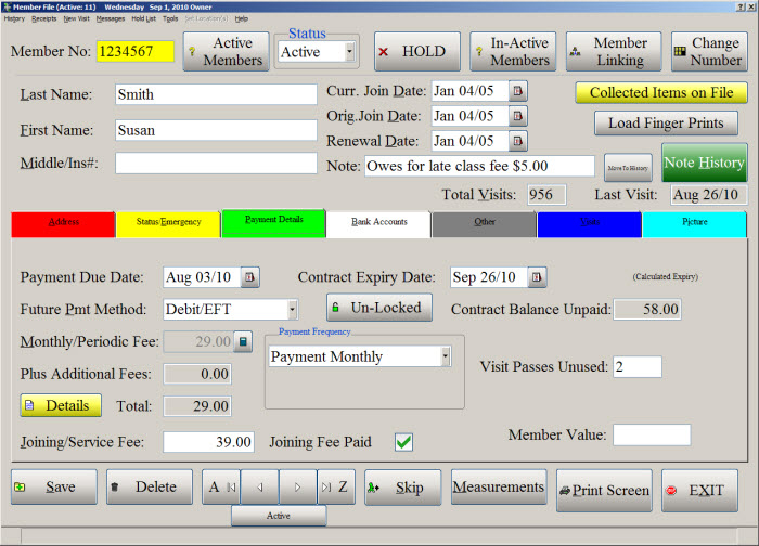Gym Management Software Features Computerease