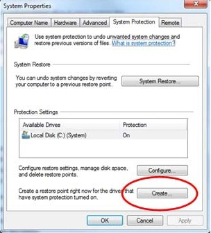 Create A New Restore Point Windows 10 How To Create A Restore Point In Windows 10 How To Create A Windows Restore Point
