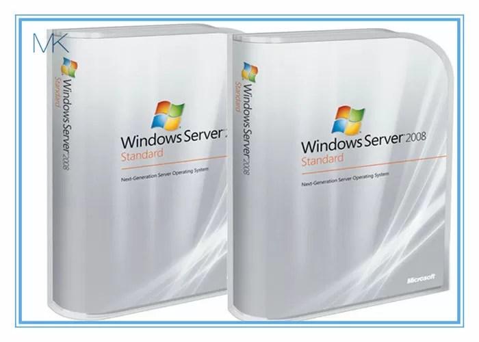 Microsoft Windows Server 2008 Versions Standard includes 5 clients