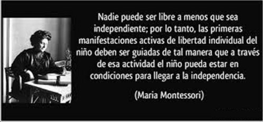 María Montessori Libertad