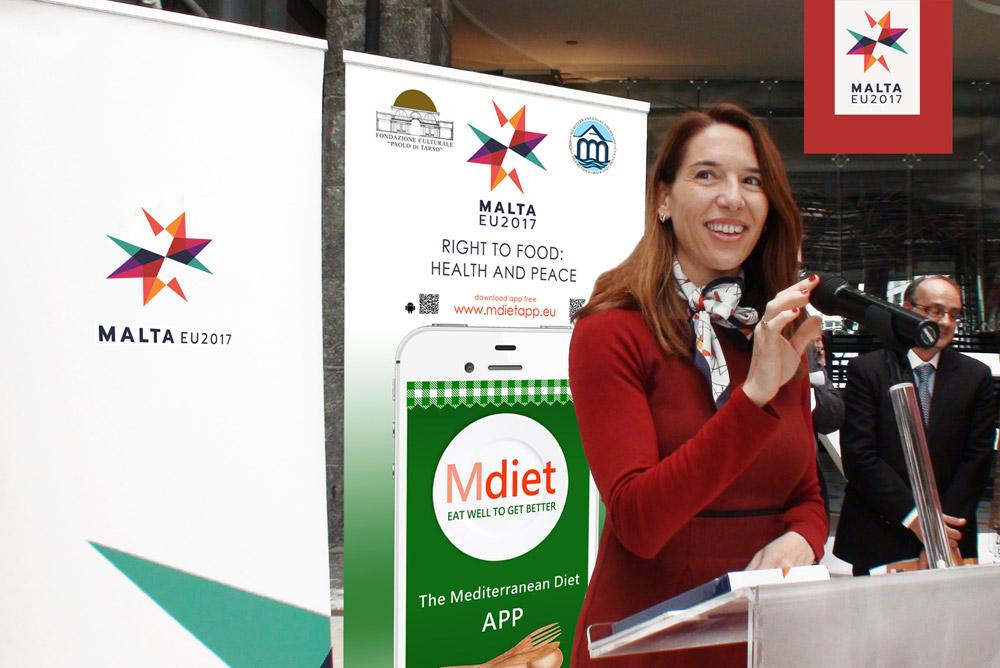 S.E. Vanessa Frazier - Ambasciatrice della Repubblica di Malta in Italia