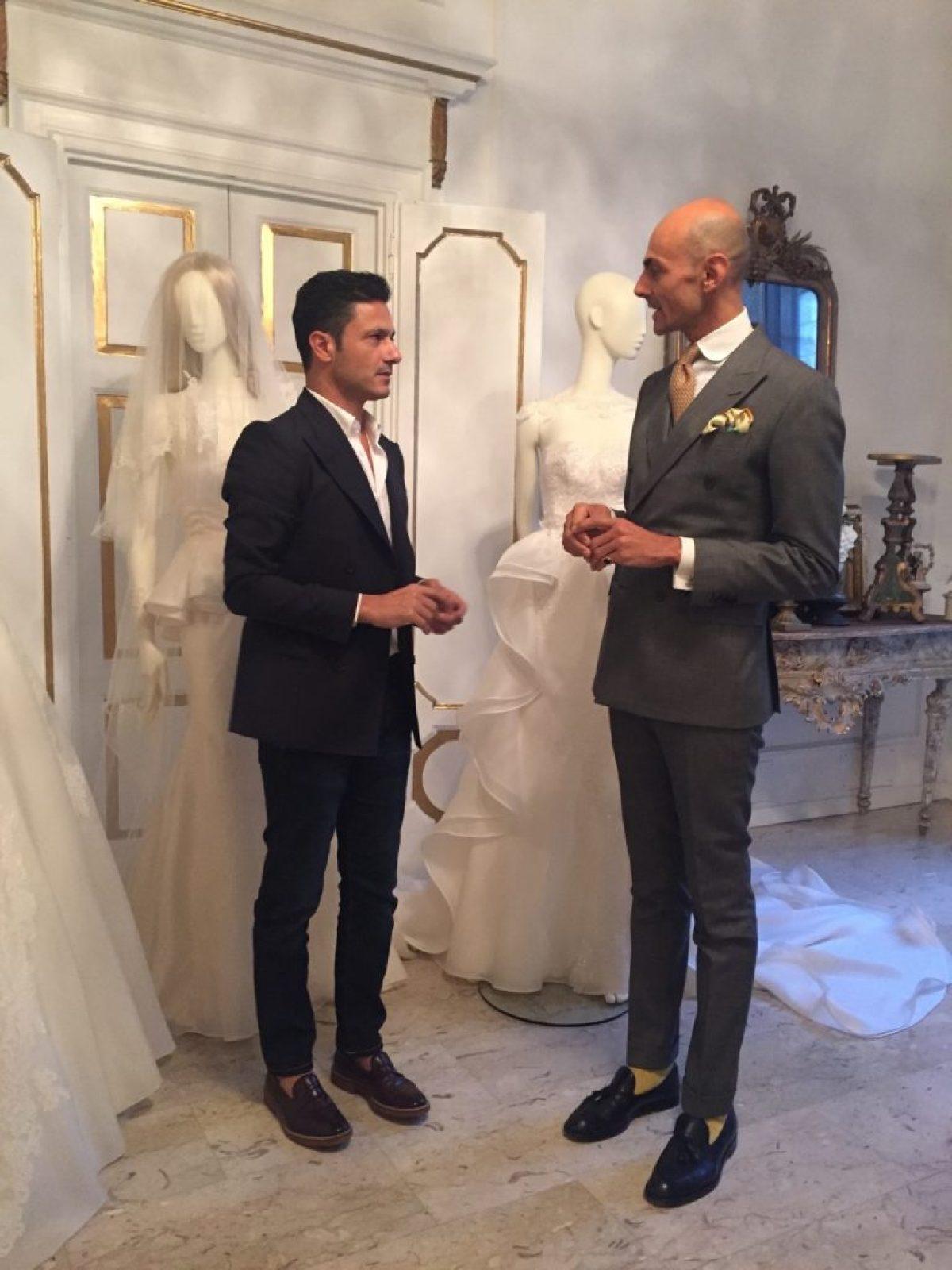Maison Signore presenta le nuove collezioni sposa 2016, tra cui la Enzo Miccio Bridal Collection e la Valeria Marini Seduction