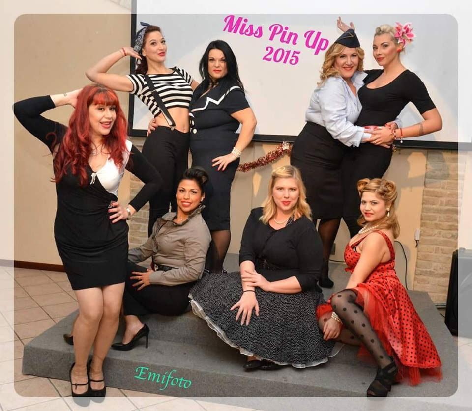 Miss Pin Up 2015, Ecco le Vincitrici del Concorso per