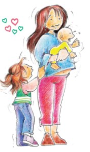 Retiro de madres embarazadas o con bebes