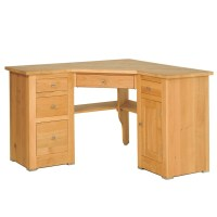 Quercus Oak Corner Office Desk - Con-Tempo Furniture
