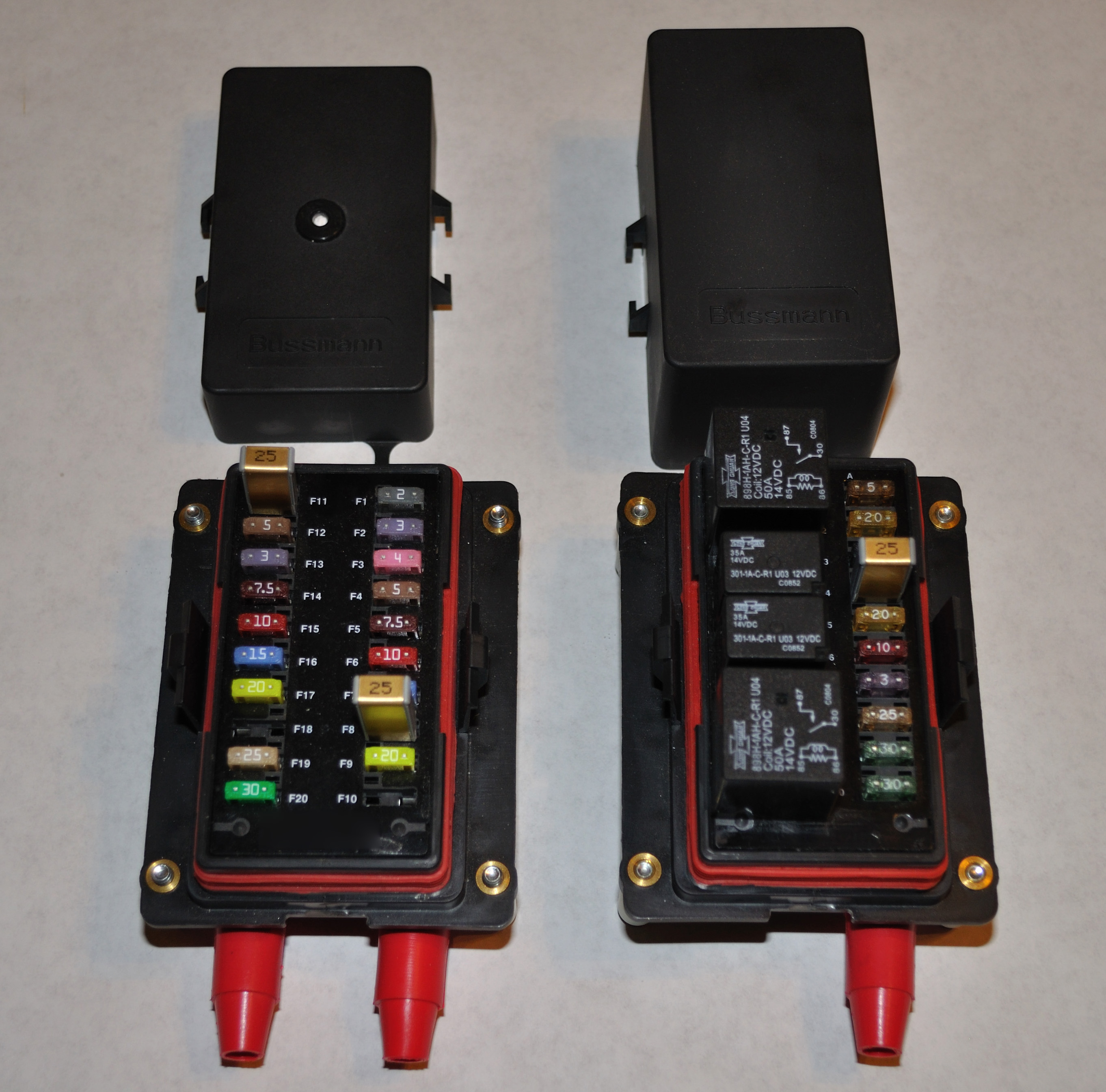 automotive fuse box tap