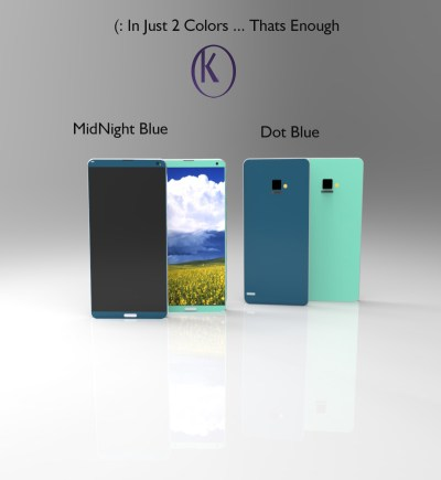 Samsung Galaxy A9 Concept Rendered by Kiarash Kia, Measures 6.5 mm in Thickness | Concept Phones