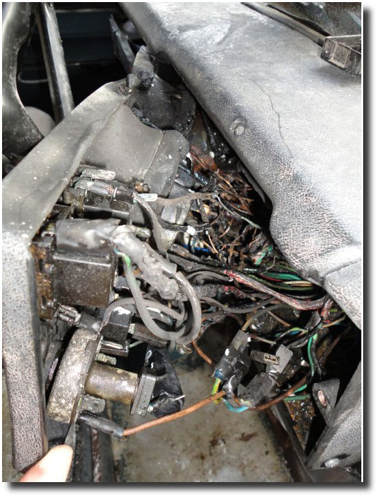 Land Rover series 3 Electrical Rewire blog -