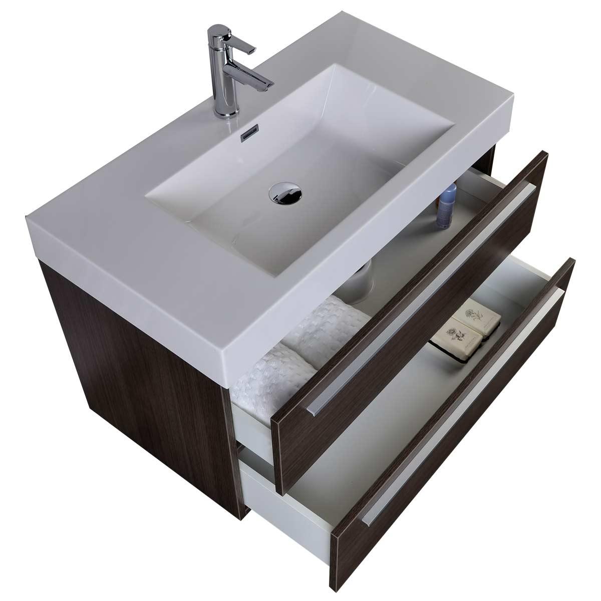 35 5 wall mount contemporary bathroom vanity in grey oak tn m900 go 36 inch