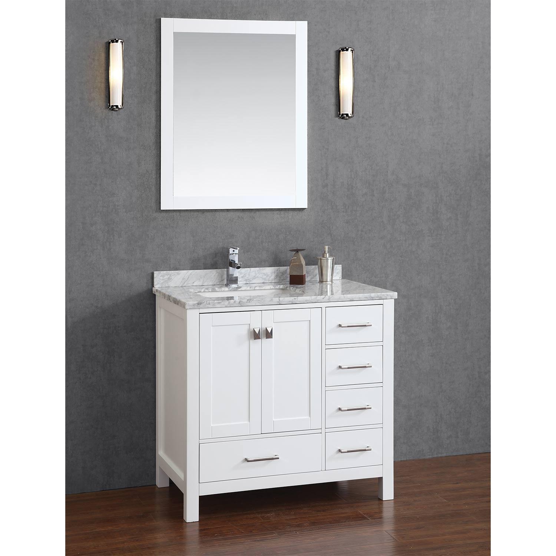 White Bathroom Vanities 36 Inch bathroom vanities 36 inch