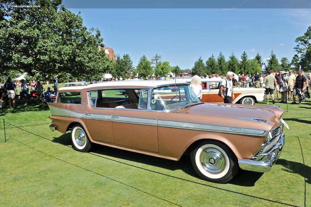 Ambassador Car Wallpaper 1958 Amc Rambler Ambassador Image