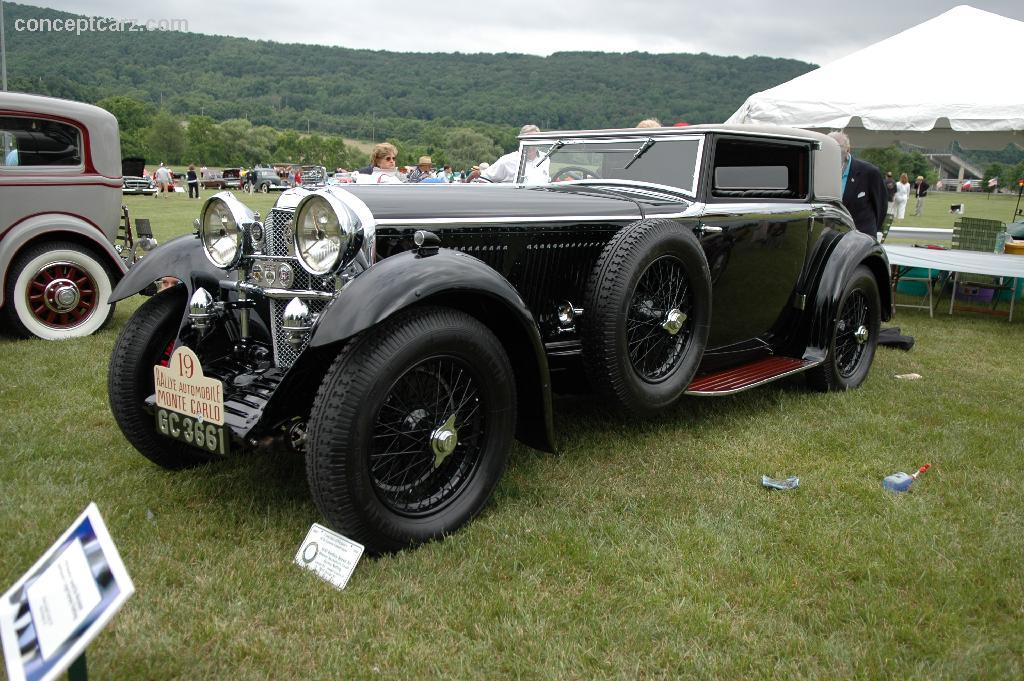 Four Cars Wallpapers Auction Results And Data For 1930 Bentley Speed Six