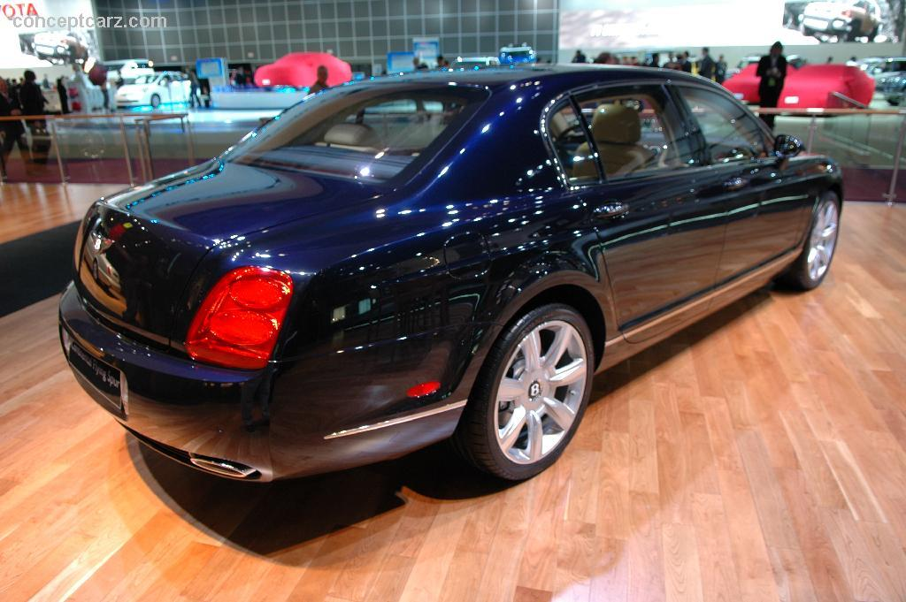 Images Of A Bentley Car Wallpaper 2006 Bentley Continental Flying Spur Image Photo 17 Of 22