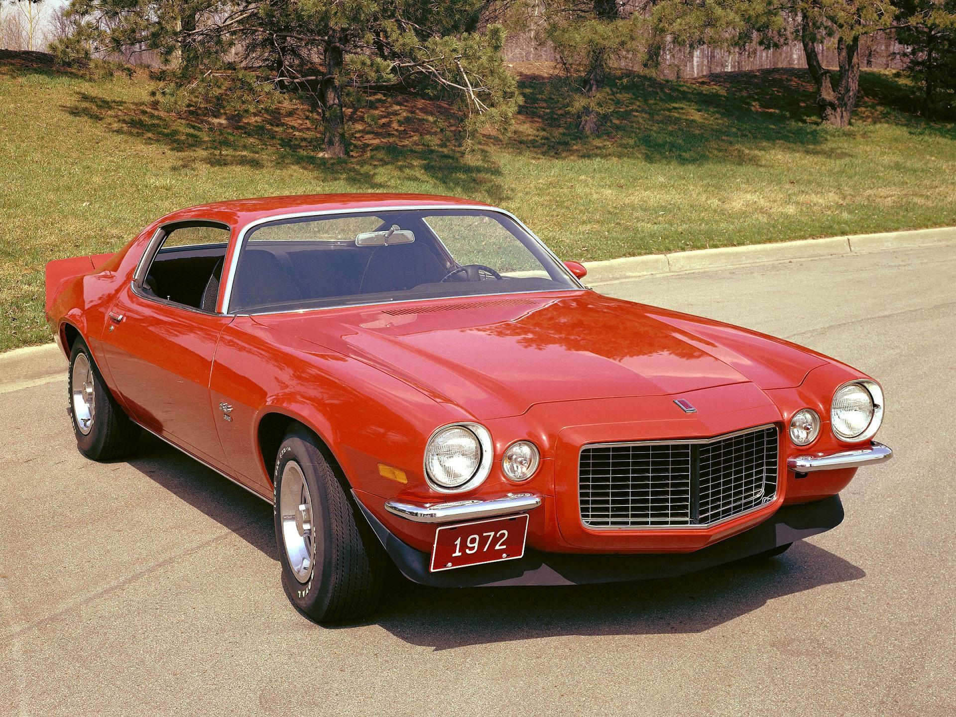 Project Cars Wallpaper Red 1972 Chevrolet Camaro History Pictures Value Auction