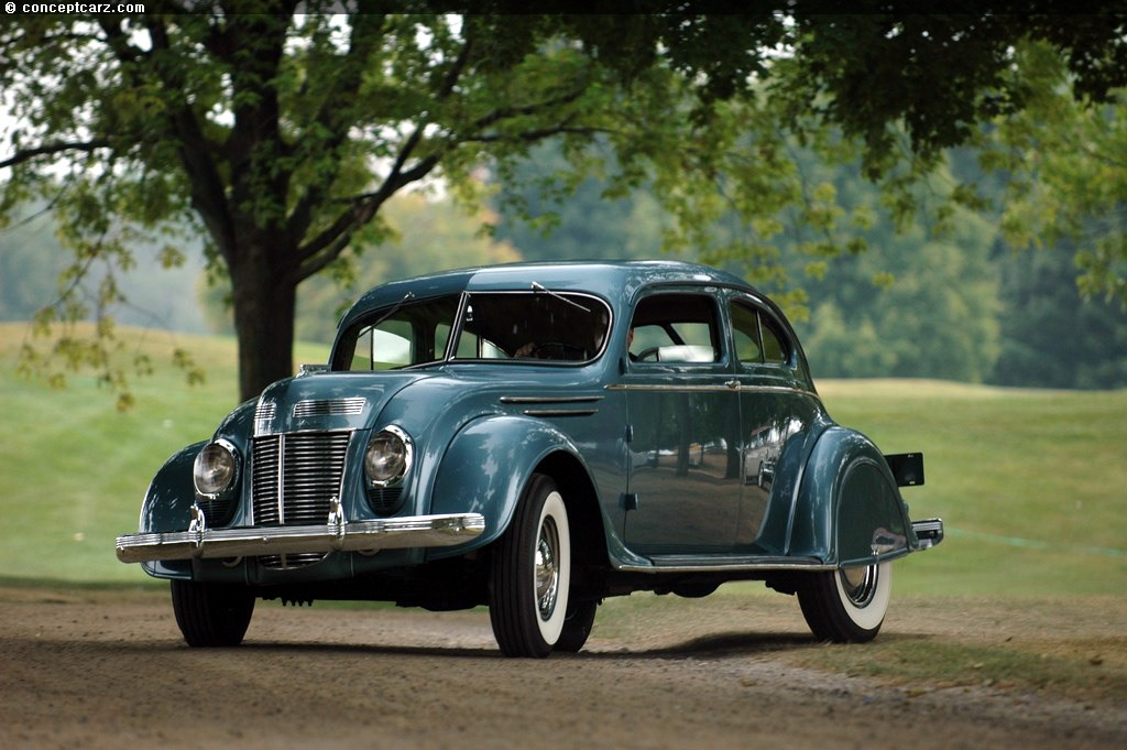 Limousine Car Wallpaper Auction Results And Sales Data For 1937 Chrysler Airflow