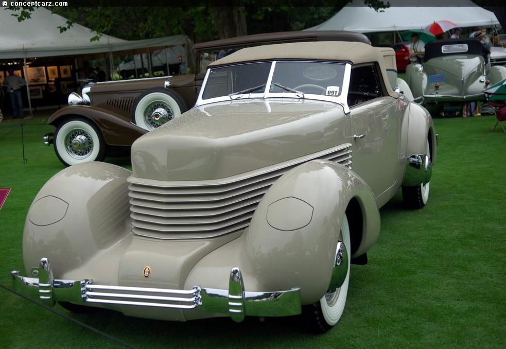 Phantom Car Wallpaper 1938 Cord 814 Prototype Image