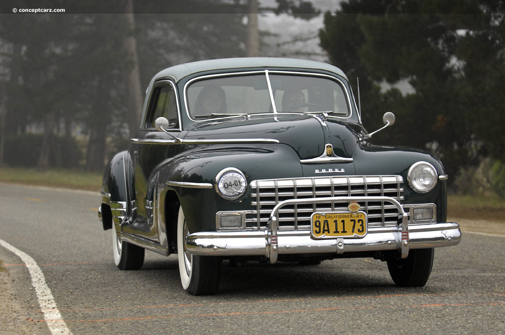 1950s Car Wallpaper 1948 Dodge Custom Series History Pictures Value Auction
