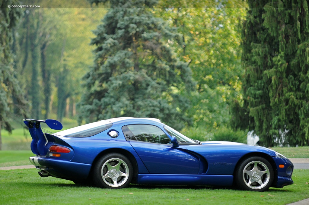 Wallpaper American Muscle Car 1997 Dodge Viper Gts Conceptcarz Com