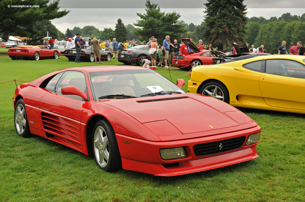 Dodge Muscle Car Wallpaper 1992 Ferrari 348 Serie Speciale History Pictures Value