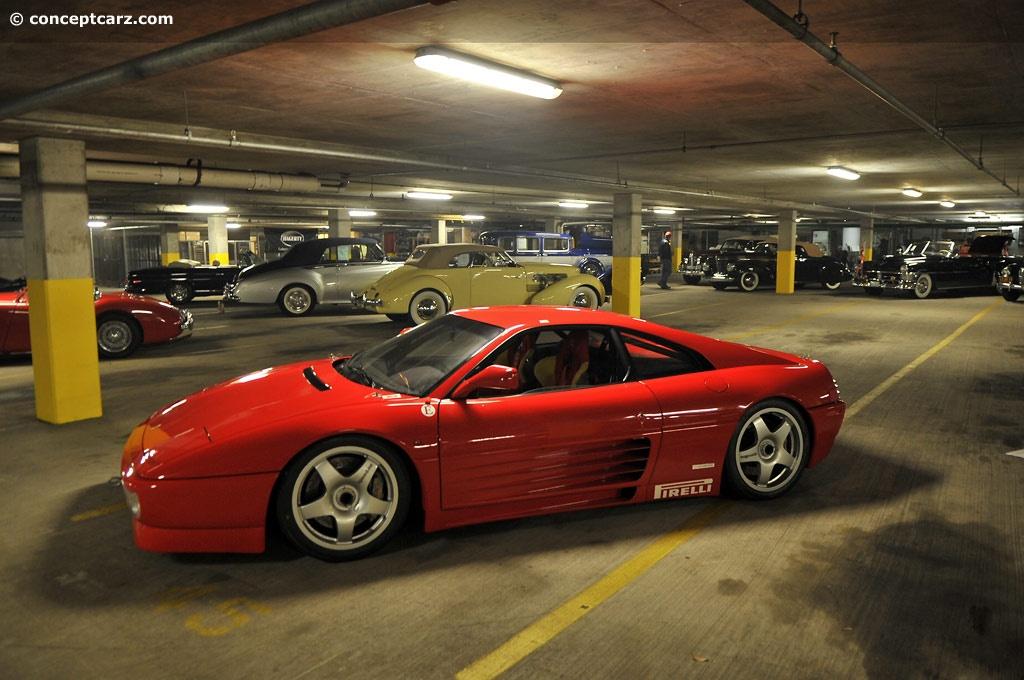 Antique Car Wallpaper 1994 Ferrari 348 Gt Michelotto Competizione History