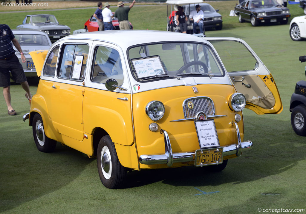 F1 Car Pictures Wallpaper 1958 Fiat 600 Multipla Pictures History Value Research