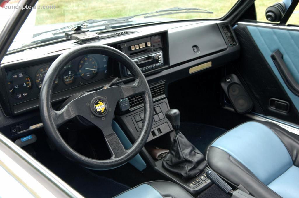 Car Interior Wallpaper 1986 Fiat X 1 9 Image Https Www Conceptcarz Com Images