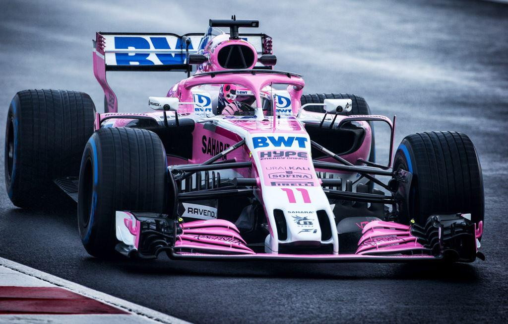 Race Car Wallpaper Images 2018 Force India Vjm11 Wallpaper And Image Gallery