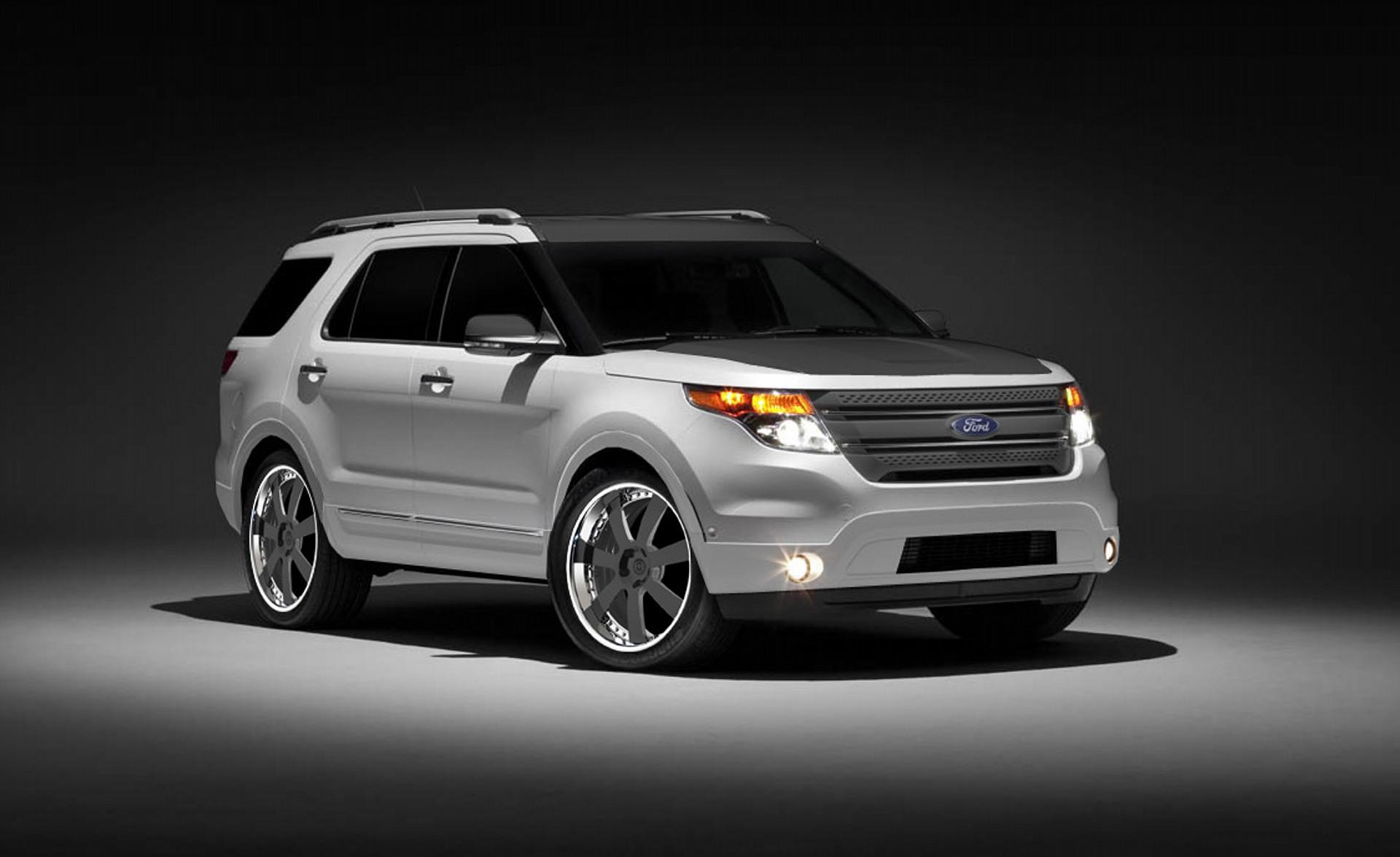 Custom Muscle Car Wallpaper 2011 Ford Explorer By Cgs Performance Products News And