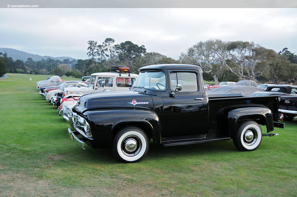 Hybrid Car Lineup Wallpaper 2018 1956 Ford F100 History Pictures Value Auction Sales