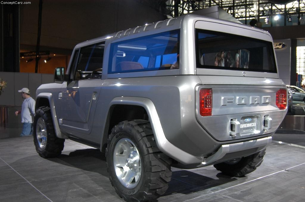 Car Wallpaper For Pc 2004 Ford Bronco Concept Image Photo 25 Of 52