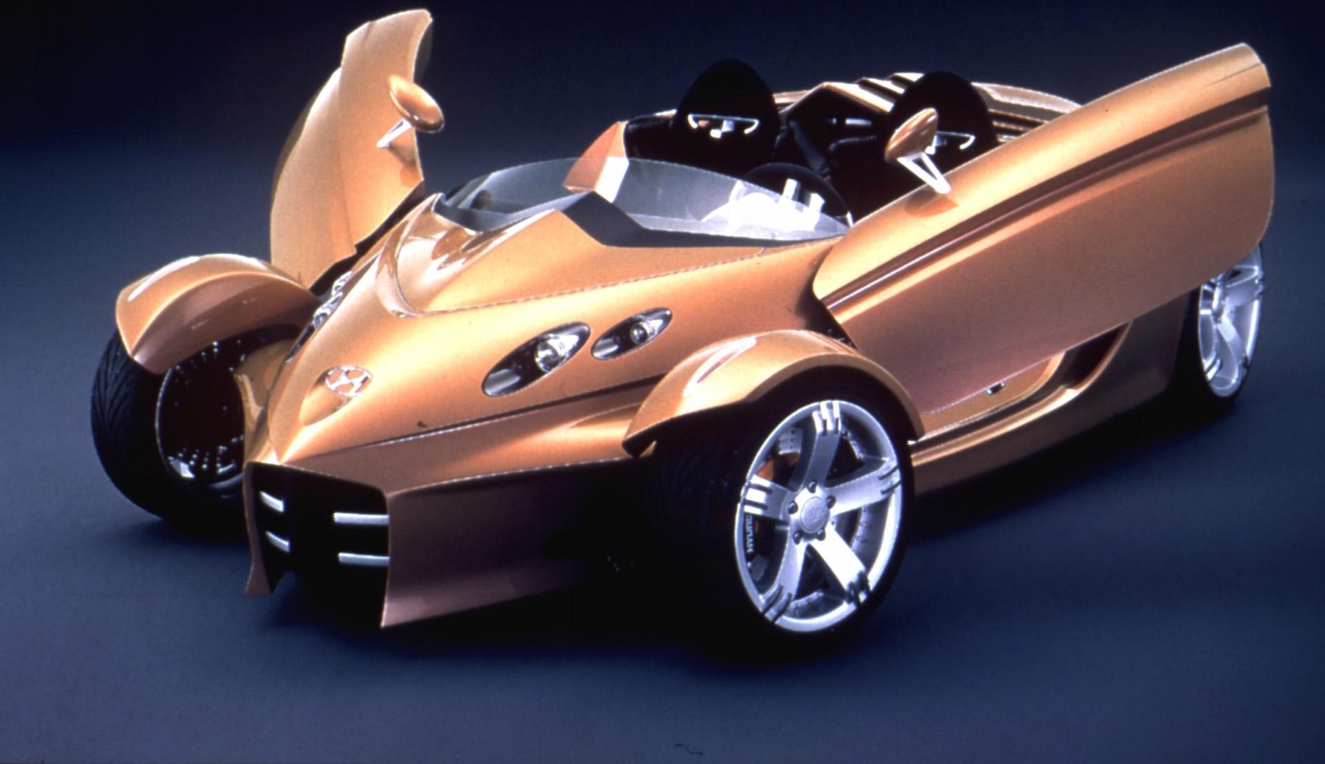 New Bugatti Car Wallpaper 2000 Hyundai Neos Concept History Pictures Value