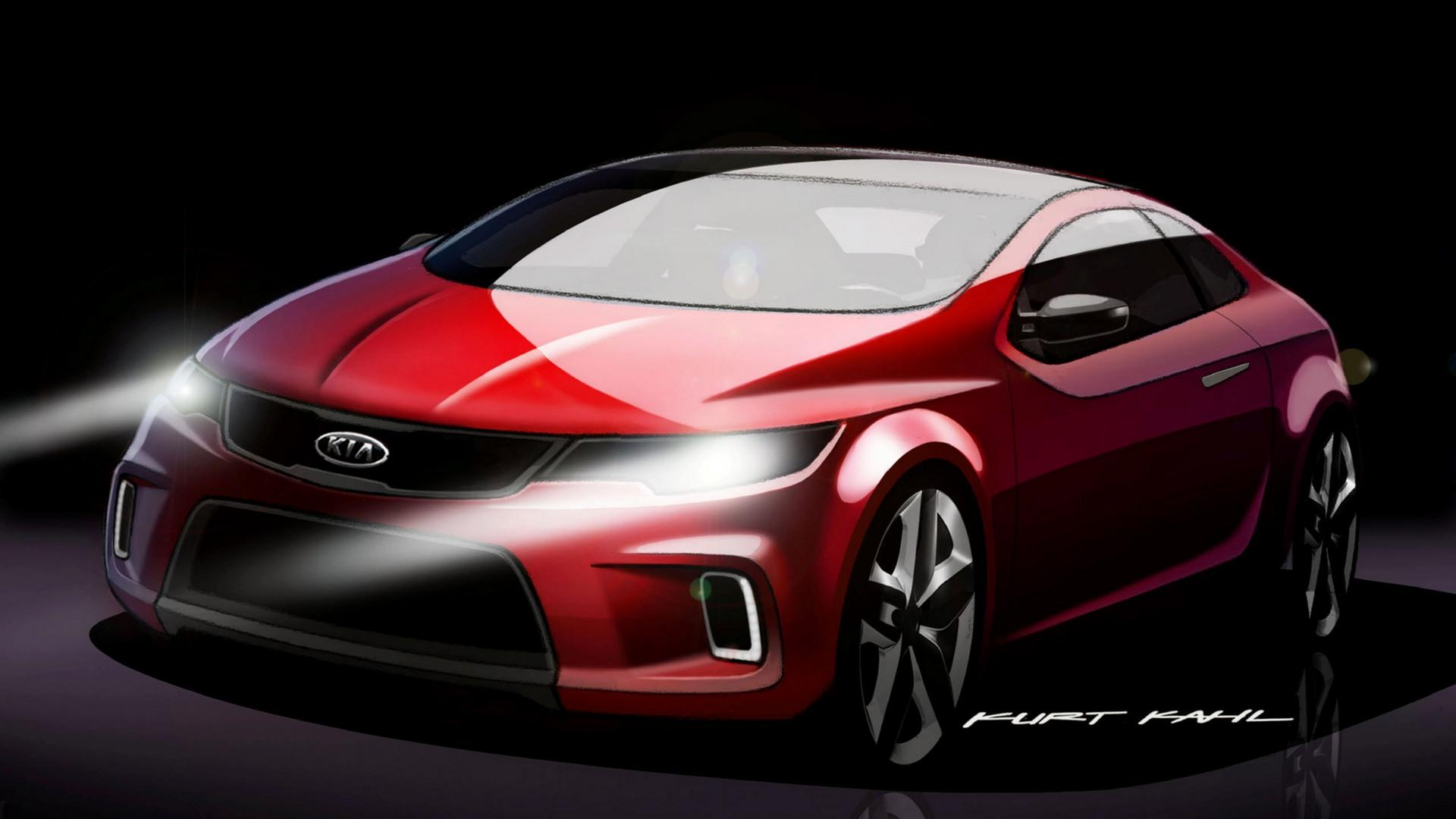 Muscle Car Wallpaper 2008 Kia Koup Concept News And Information Research And