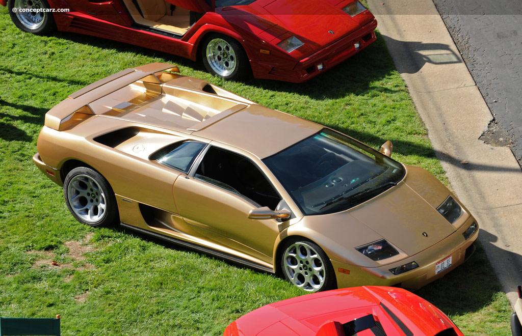 Car Dashboard Wallpaper 2001 Lamborghini Diablo Conceptcarz Com