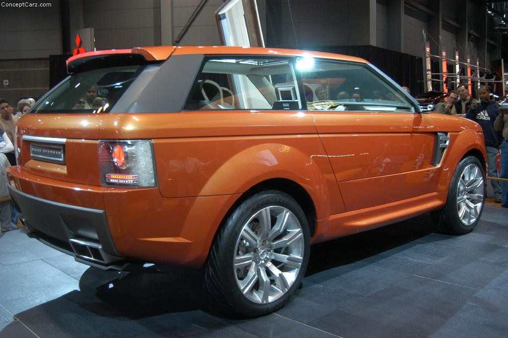 Car Wallpaper Gallery 2004 Land Rover Range Stormer Concept Image Photo 2 Of 29