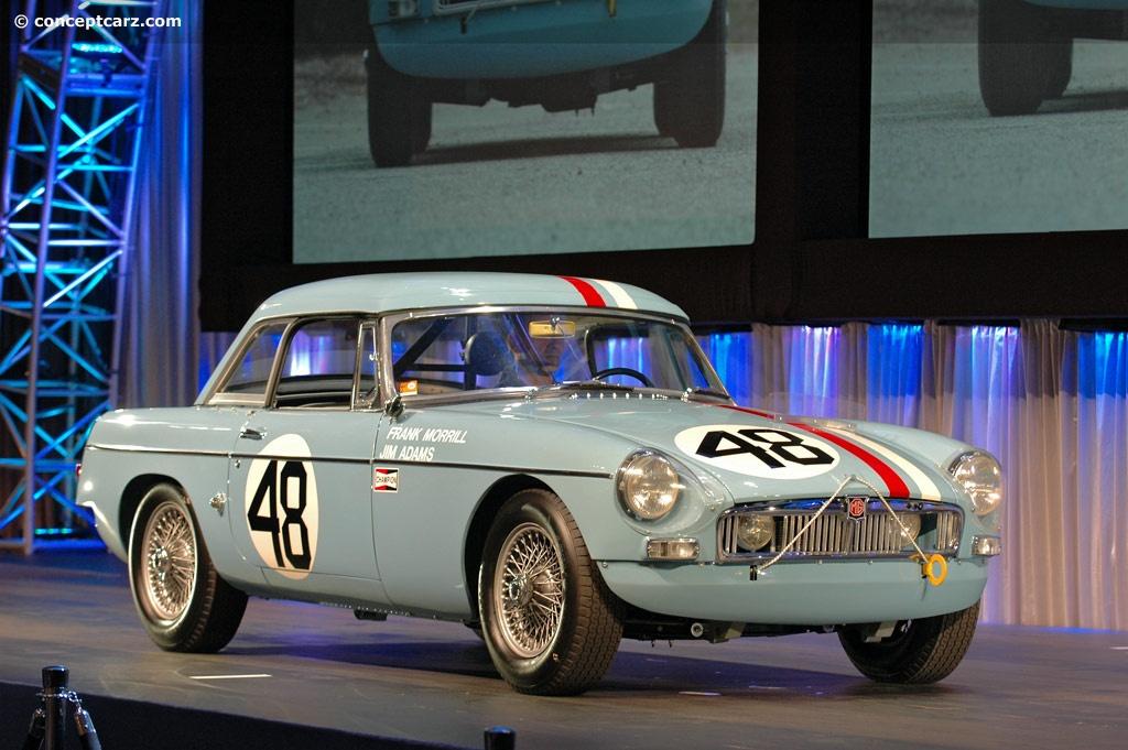 Blue Racing Car Wallpaper 1962 Mg Mgb Conceptcarz Com