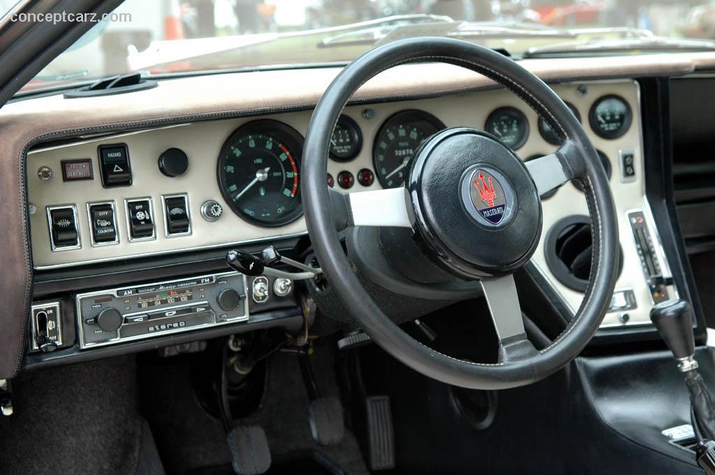 Car Dashboard Wallpaper 1975 Maserati Bora Conceptcarz Com